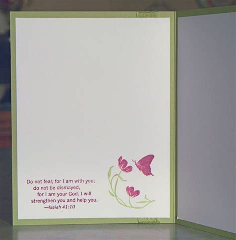 Handmade Sympathy Cards Verses - handmade sympathy card stin up quot thoughts prayers