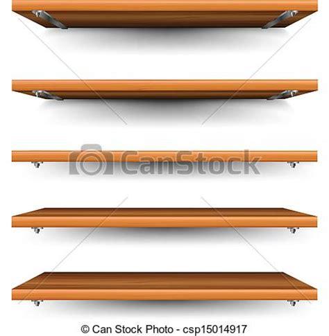 regal clipart vektor clip holz satz regale wood regale