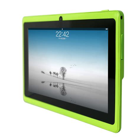 Tablet Android 7 Inch yuntab q88 7 inch wifi green color tablet android 4 4