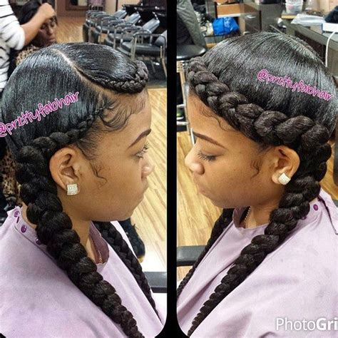 2 braids hairstyle for black hair 51 best two braids hairstyles images on pinterest braid