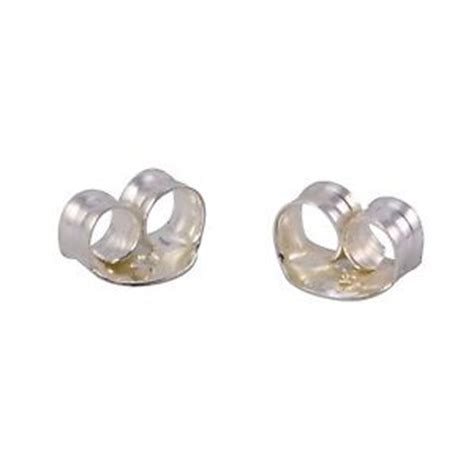 925 sterling silver replacement earring backs clutches