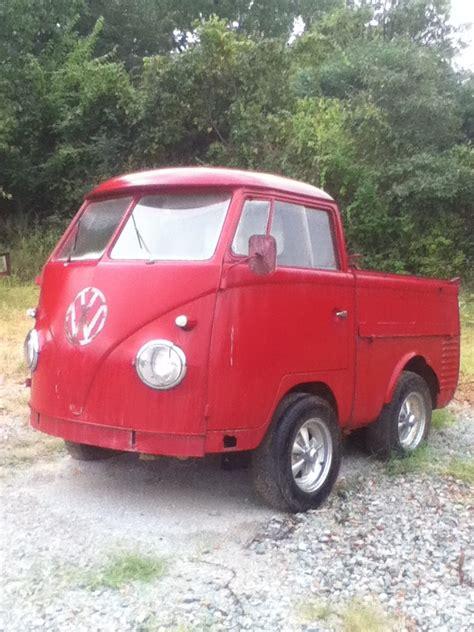 V W Mini Truck I Want One D Vw Cer Kombi Pinterest
