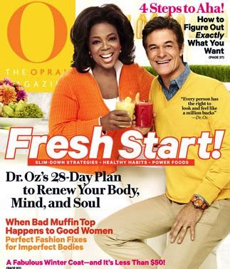 oz magazine film tv entertainment tv s dr oz teams up with hearst to test new magazine