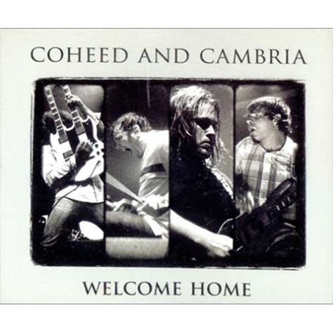 coheed and cambria welcome home usa promo 2 cd single set