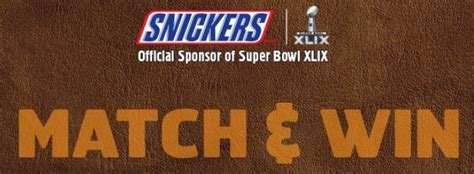Snickers Sweepstakes - snickers super bowl sweepstakes instant win who said nothing in life is free