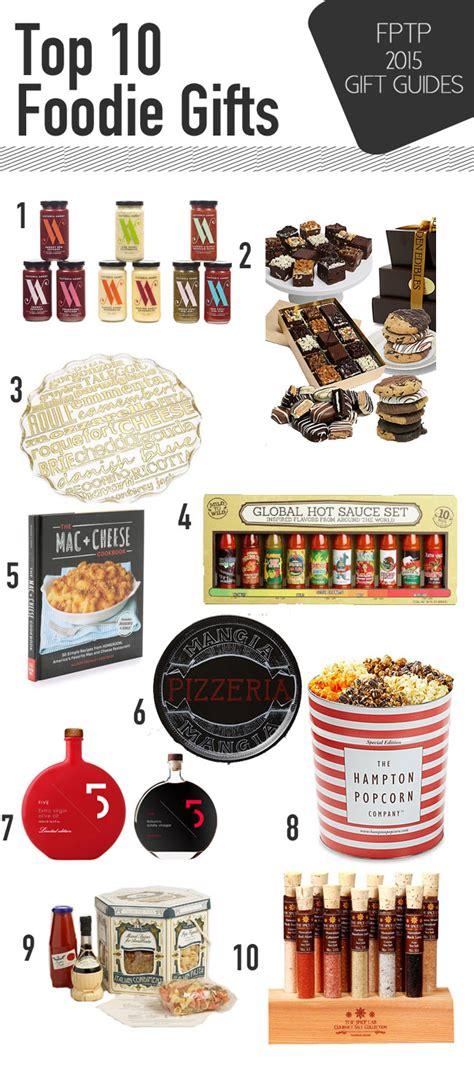 top 10 foodie gifts julie