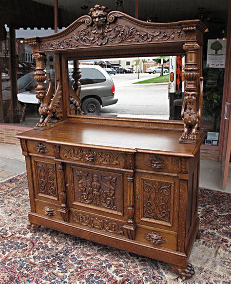 Rj Cabinets by Rj Horner Style Quartersawn Oak Sideboard