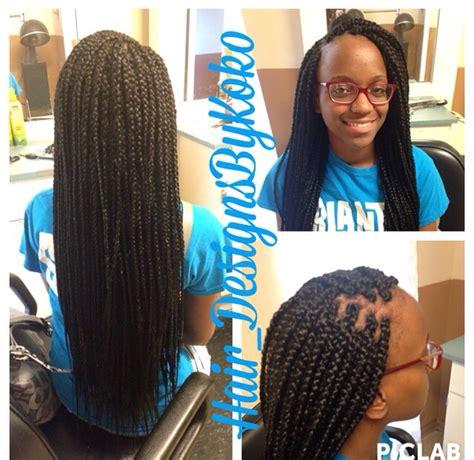 box braids styles and lengths waist length box braids done by me box braids
