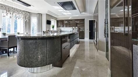 luxury kitchen designs uk luxury new kitchen st george s hill surrey extreme design