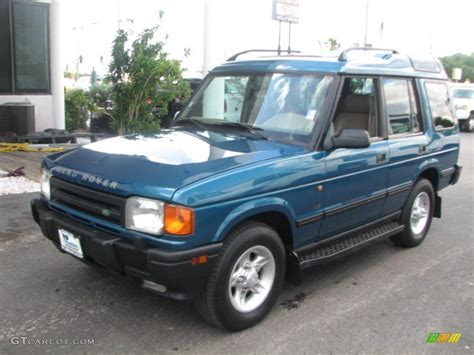 1998 land rover discovery interior 1998 charleston green metallic land rover discovery le