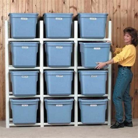 Pvc Storage Rack pvc storage shelf plans diy blueprint plans