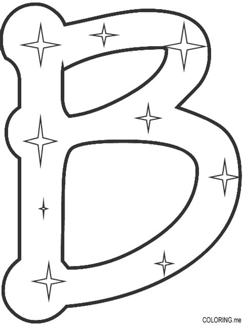 letter b coloring pages coloring page letter b coloring me