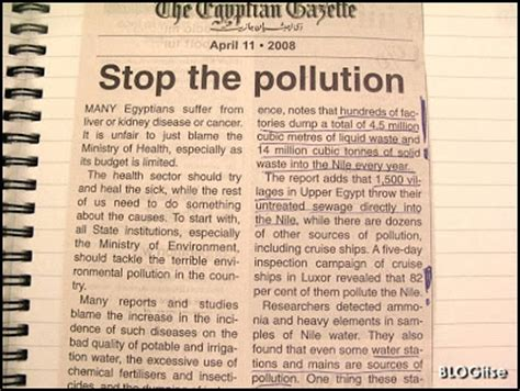 Articles The Search For The Bag by Environmental Pollution Articles Images Search