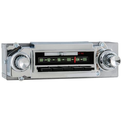 1963 chevrolet radio with bluetooth oe replica 462201b