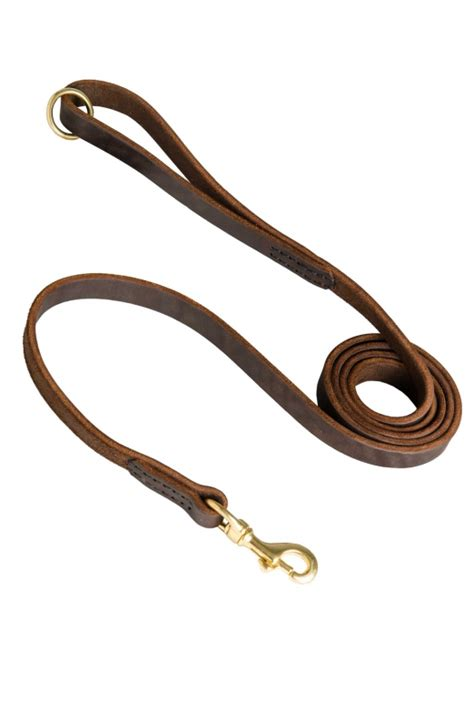 Handmade Leashes - handcrafted and stitched leather leash mill store