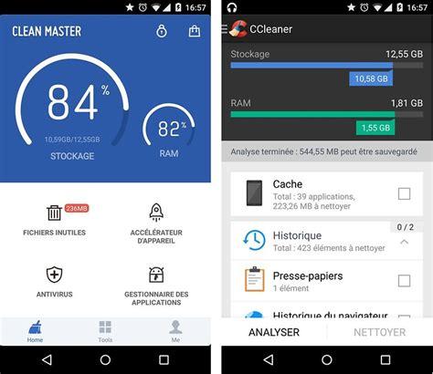 ccleaner vs clean master clean master vs ccleaner lequel nettoie le mieux votre
