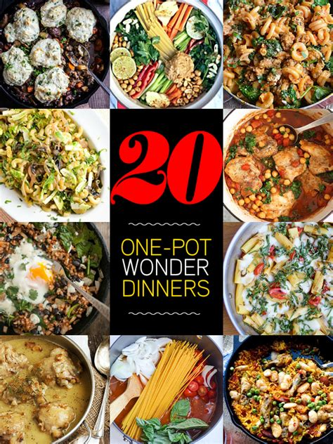 20 one pot wonder meals they re what s for dinner foodiecrush bloglovin