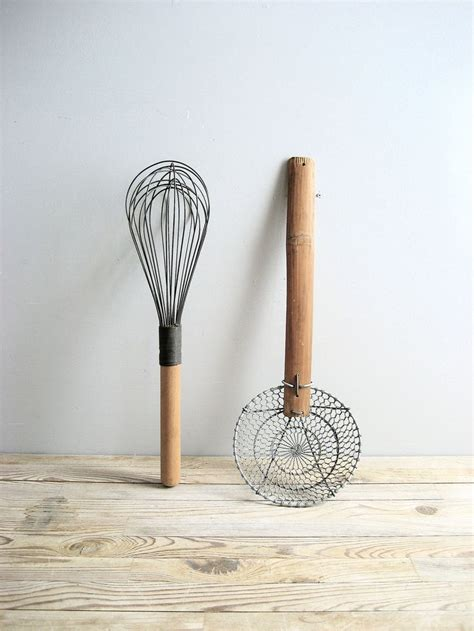 Vintage Kitchen Utensils by Vintage Pair Kitchen Utensils
