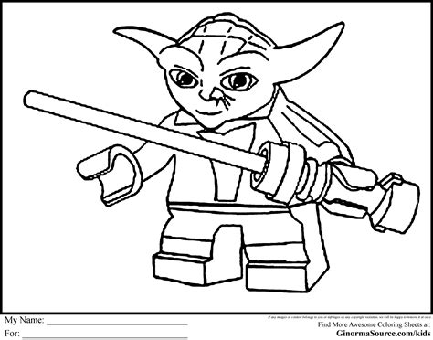 printable coloring pages of yoda free lego star wars coloring pages lego coloring pages