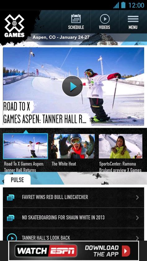 espn app for android espn releases x apps for android phones and tablets