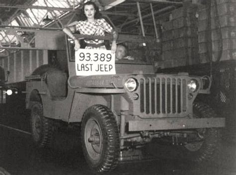 How Do Jeeps Last Last Gpw Jeep Produced By Ford At One Of Its Plants During