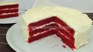 velvet kuchen rezept velvet cake mit cheese frosting amerikanisch