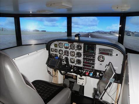 build your own house simulator this is the ultimate in home flight simulation
