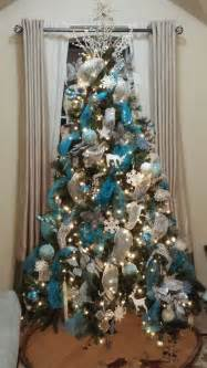 17 best images about blue and silver christmas trees on