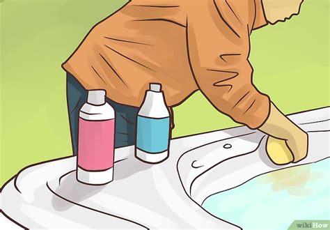 come pulire la vasca idromassaggio come pulire una vasca idromassaggio 4 passaggi
