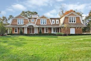 Cape Cod Style House hanptons style shingle dutch colonial traditional