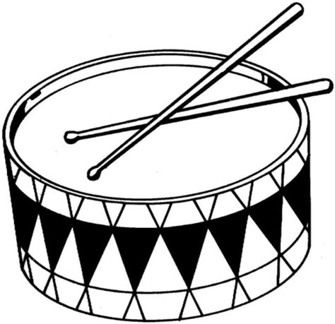 drums coloring page supercoloring com