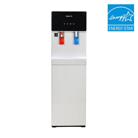 Dispenser Sharp Self Clean self cleaning and cold bottom loading water cooler grays