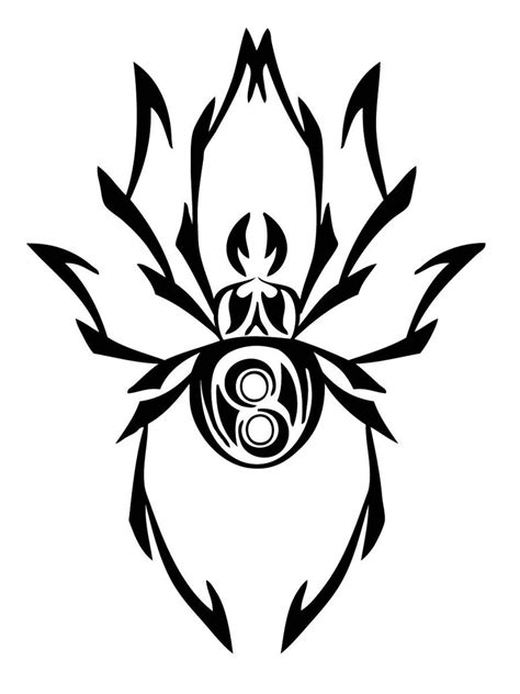tribal tattoo simple spider tattoos designs ideas and meaning tattoos for you