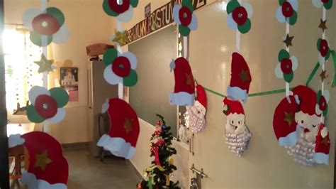 christmas decorations in classroom decoration in class nursery d