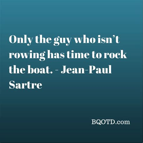 rock the boat tempo only the guy who isn t rowing has time to rock the boat