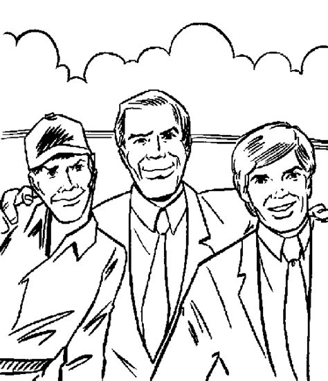 a team coloring pages printable cartoon coloring pages