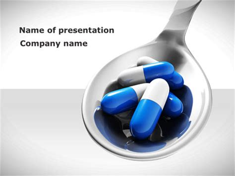 pharmacology presentation template for powerpoint and