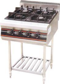 Getra Rbj 4 Gas Open Burner Kompor Komersial 4 Burner With Oven peralatan stainless dapur dan restoran harga bersaing 081213965753 ias fabrication