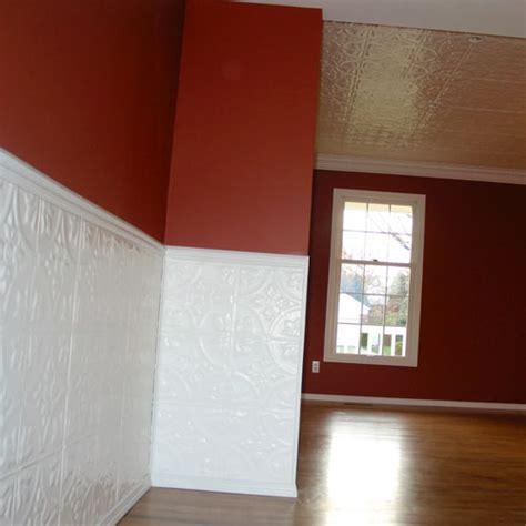 Tin Wainscoting Panels Fixer 187 Beadboard Or Pressed Tin Tiles