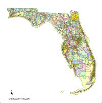 editable florida map with cities roads counties zip