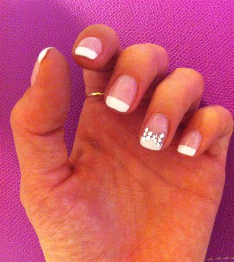 Ongle Gel Deco Strass by Ongles En Gel Strass