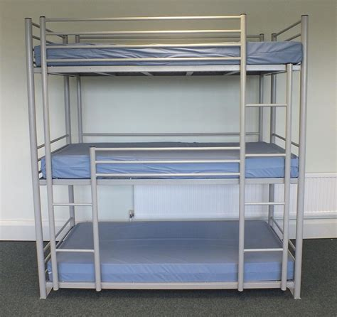 Bunk Beds With Three Beds 3 Person Bunk Bed Cheap Metal Bunk Beds Sale Buy Cheap Metal Bunk Beds Sale