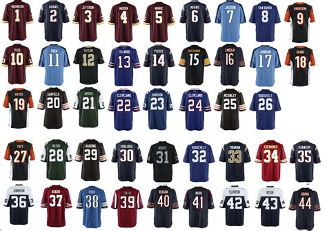 nfl jersey a jersey for every us president with the team they d likely root for based on their