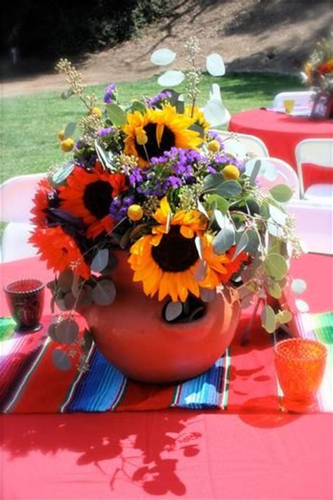 mexican themed centerpieces mexican themed wedding decor ideas that will floor you