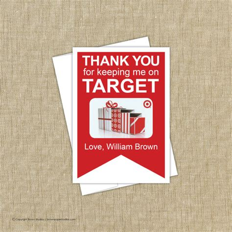 E Gift Cards Target - target gift card holder instant download by brownpaperstudios