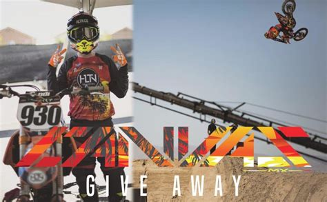 Monster Energy Gear Giveaway - jersey giveaway canvas mx