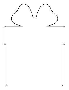 christmas pattern outline christmas present pattern use the printable outline for