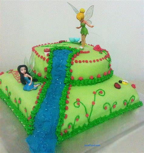 Winter Home Decorating Ideas Tinkerbell Cake Step By Step