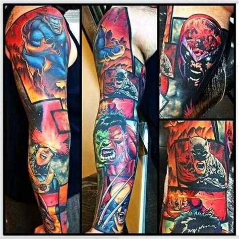 comic strip tattoo designs comic tatoos comic strips