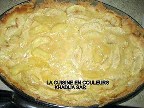 recette de tarte facile aux fruits pommes